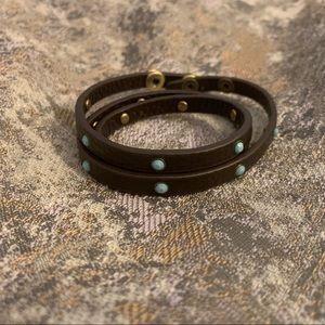Chloe + Isabel Jewelry - Crystal Studded Multi-Wrap Bracelet